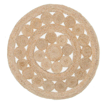 Atrium Pilu Natural Round Jute Rug - Simple Style Co