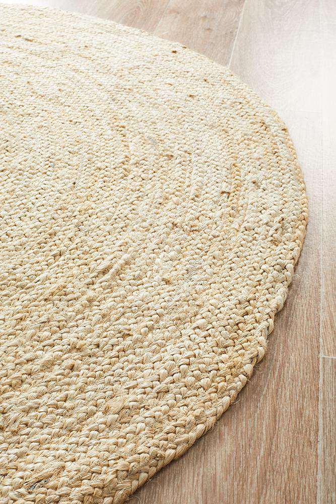 Byron Bleached Jute Rug | Jute Rugs | Coastal Rugs | Simple Style Co