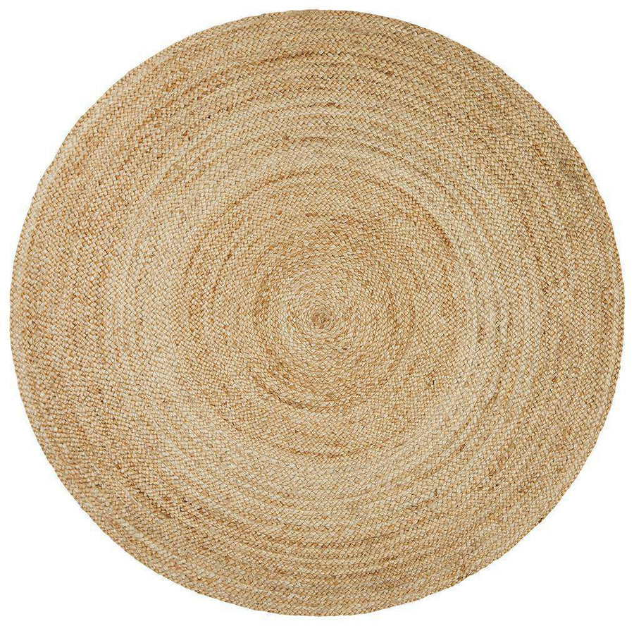 Catalina Round Jute Rug - Simple Style Co