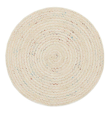 Shiva Bleached Jute Round Rug - Simple Style Co