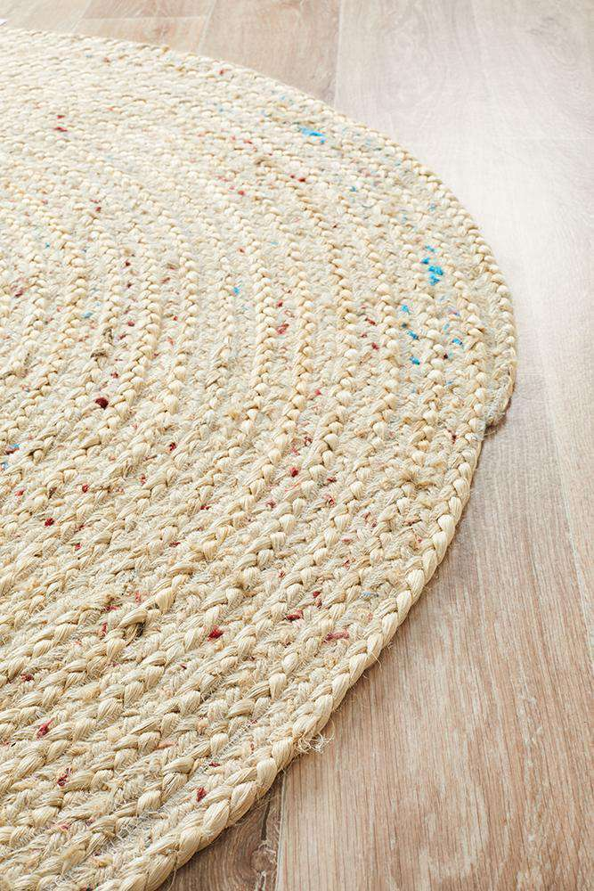 Nata Bleached Jute Rug | Free Delivery Australia Wide | Simple Style Co