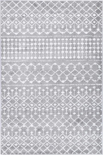 Ermina Tribal Grey Rug - Simple Style Co