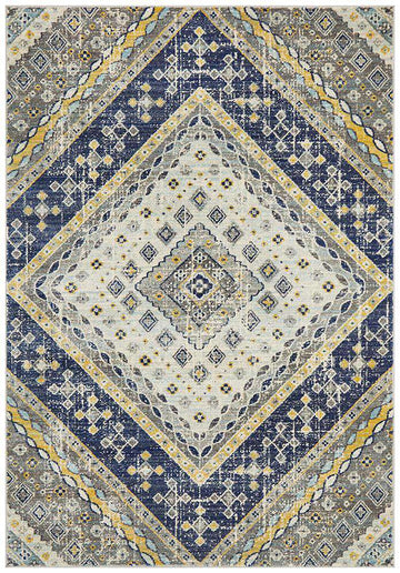 Toulouse Traditional Rug - Navy - Simple Style Co