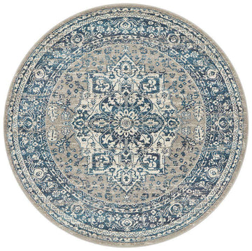 Julian Traditional Round Rug | Free Delivery Australia Wide | Simple Style Co