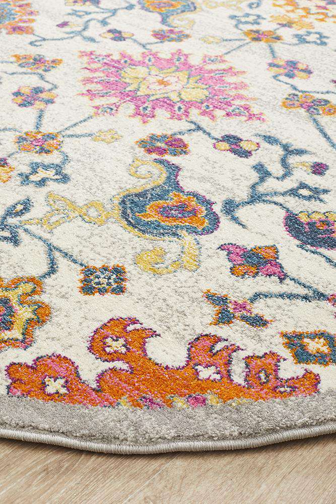 Marigold Transitional Round Rug - Simple Style Co