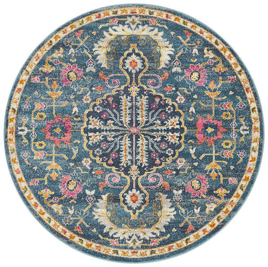 Oxford Traditional Round Rug - Simple Style Co