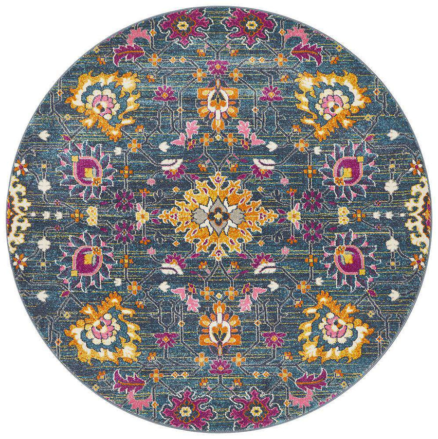 Lisse Traditional Round Rug | Free Delivery Australia Wide | Simple Style Co