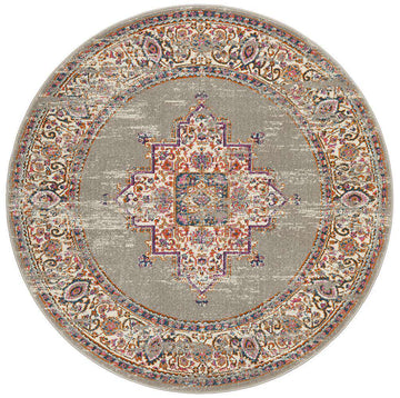 Ladakh Traditional Round Rug | Free Delivery | Simple Style Co