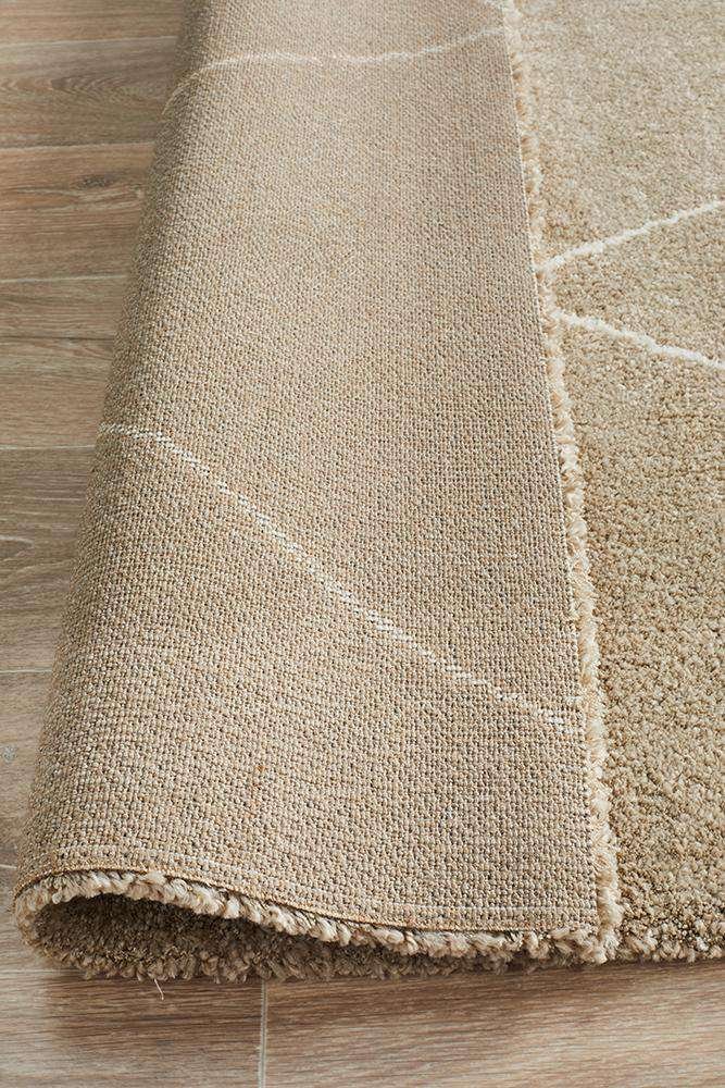 Manhattan Diamond Rug - Natural
