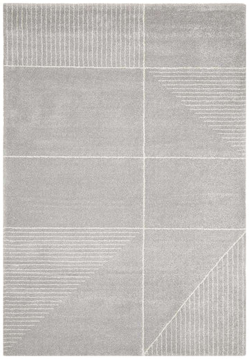 Tribeca Rug - Silver - Simple Style Co