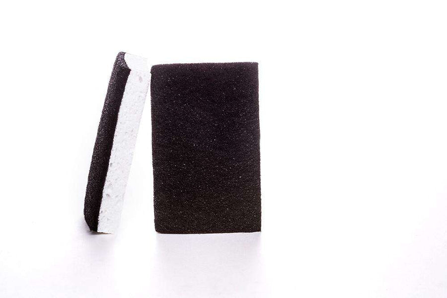 Black & White Scourer Sponge - Simple Style Co