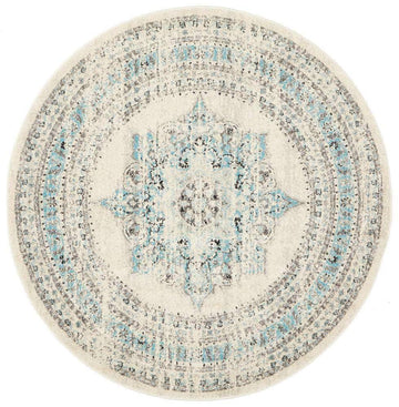 Sorrel Transitional Round Rug - Simple Style Co