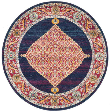 Nilesh Transitional Round Rug - Simple Style Co