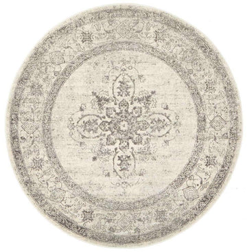 Zehra Transitional Round Rug - Simple Style Co