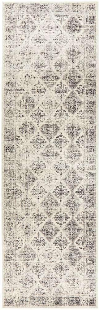 Esra Grey Transitional Runner Rug - Simple Style Co