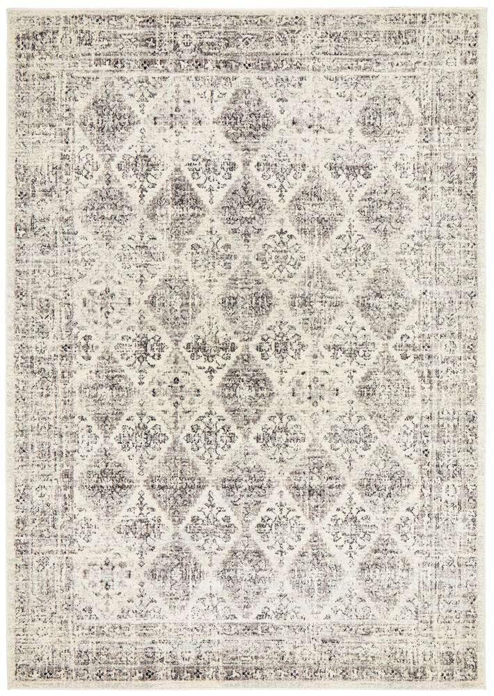 Esra Grey Transitional Rug - Simple Style Co