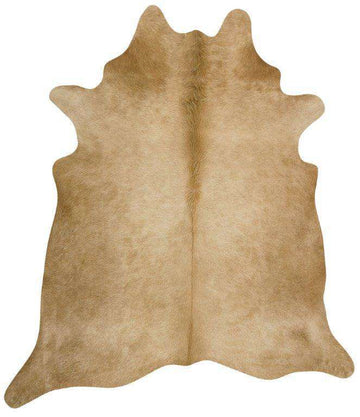 Simple Style Co: Cow Hide Beige | Free Delivery | Buy Rugs Online