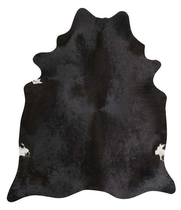 Simple Style Co: Cow Hide Black | Free Delivery | Shop Rugs Online