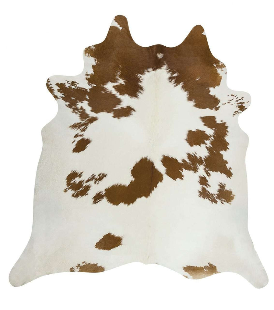 Simple Style Co: Cow Hide - Brown & White | Free Delivery | Shop Rugs