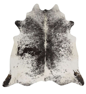 Simple Style Co: Cow Hide - Salt & Pepper Black | Free Delivery
