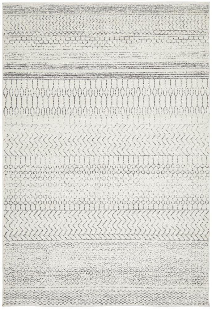 Harper Tribal Silver Grey Rug - Simple Style Co
