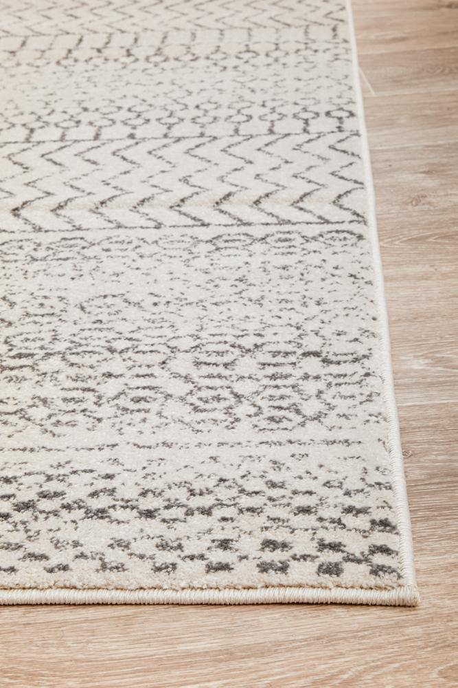 Harper Tribal Rug - Silver - Simple Style Co