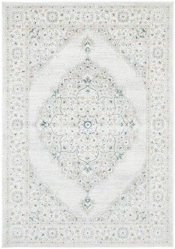 Clara Green Transitional Rugs