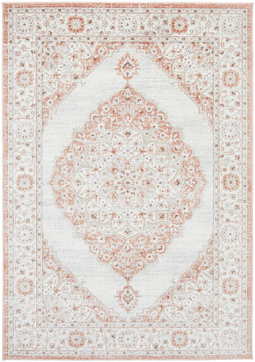 Clara Peach Transitional Rug - Simple Style Co