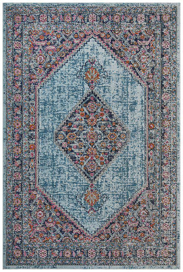 Simple Style Co Fethiye Diamond Rug Blue: Buy Rugs Online | Shop Rugs