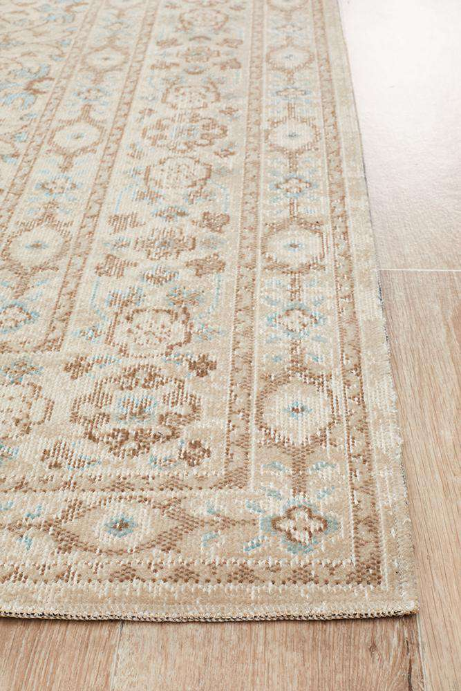 Urfa Traditional Rug - Bone