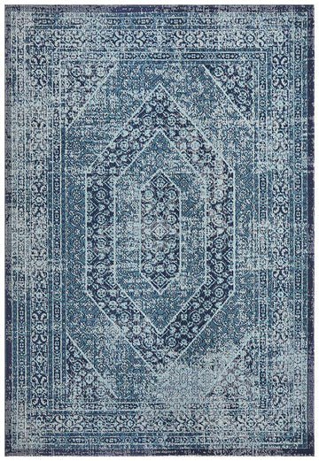 Eternal Whisper Vision Blue Rug - Simple Style Co