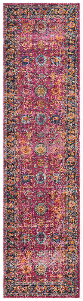 Izmir Traditional Rug - Pink - Simple Style Co