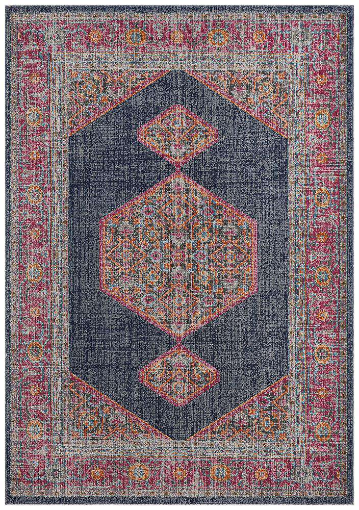 Simple Style Co Edessa Traditional Rug Navy: Buy Rugs Online | Shop Rugs