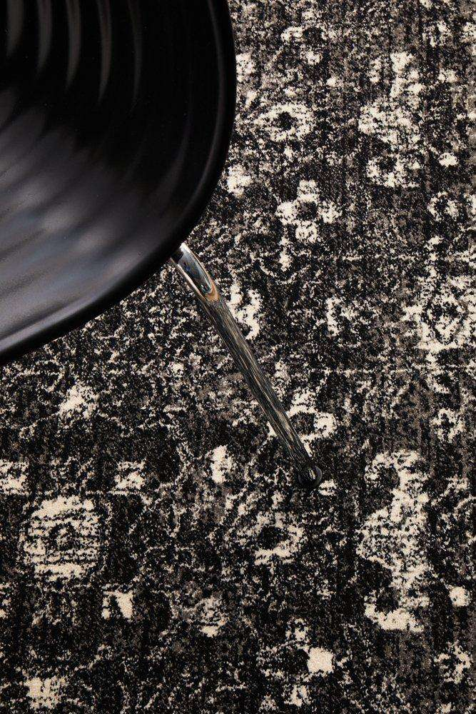 Estella Transitional Rug - Charcoal