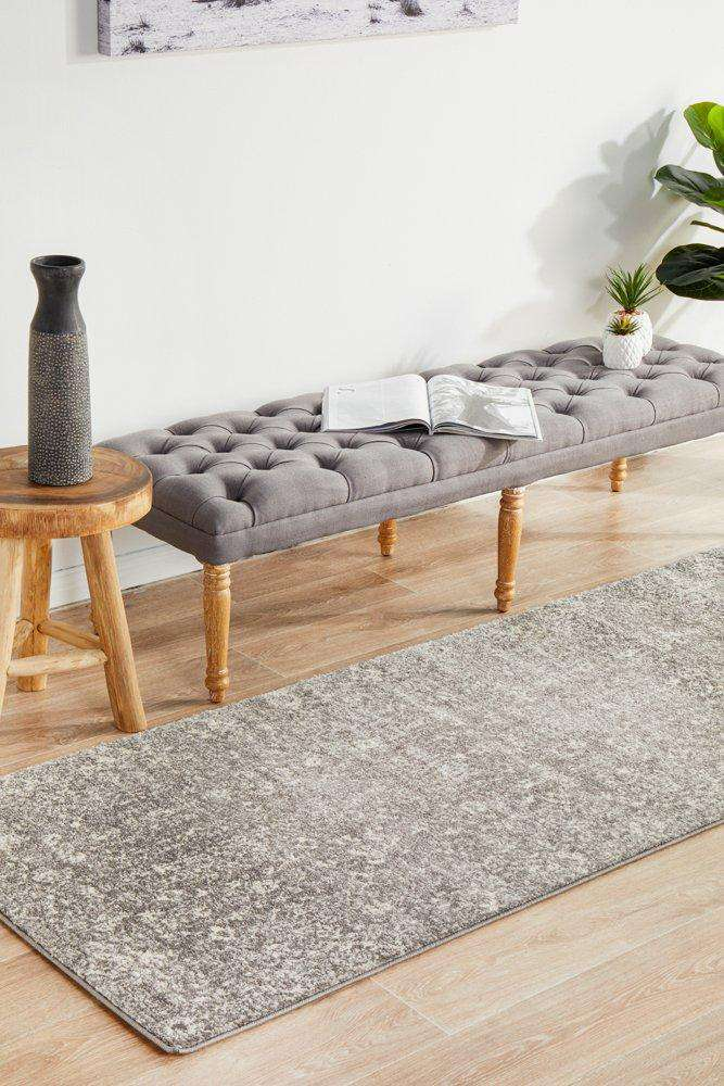 Estella Transitional Runner - Grey - Simple Style Co