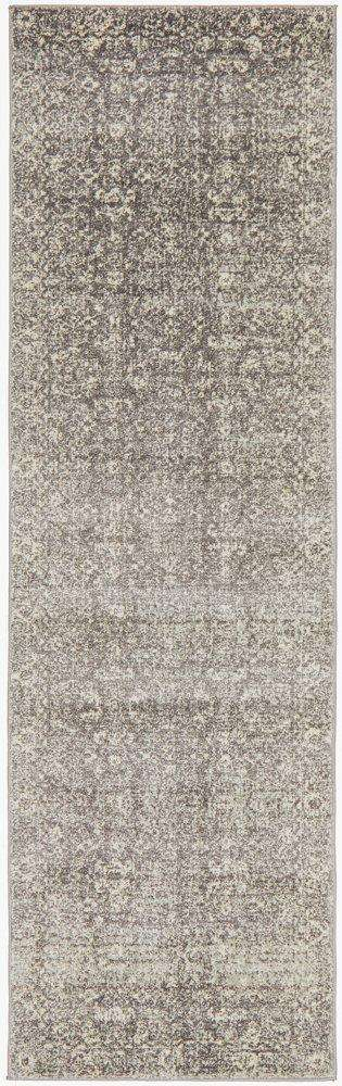 Simple Style Co: Estella Transitional Runner Grey | Buy Rugs Online