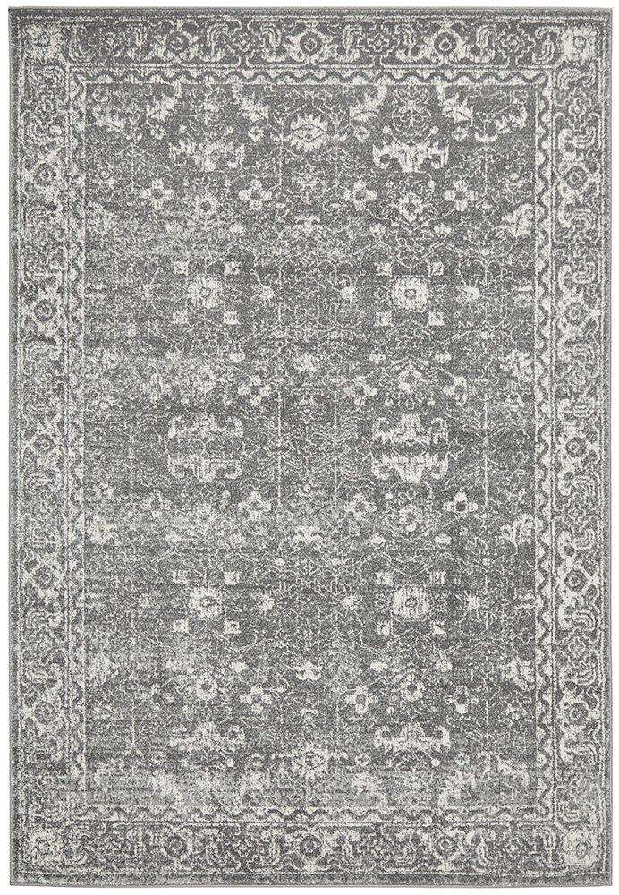 Estella Transitional Rug - Grey
