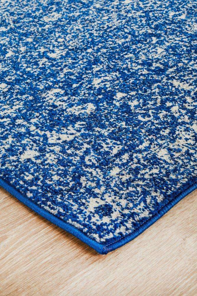 Estella Navy Transitional Runner Rug - Simple Style Co