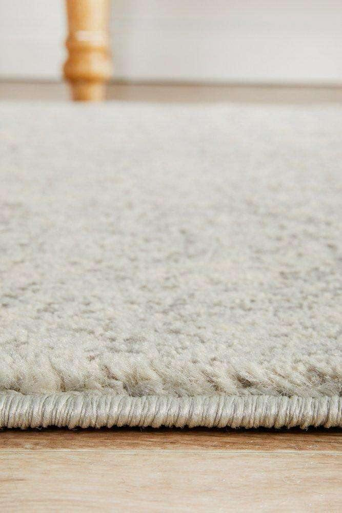 Estella Silver Transitional Runner Rug - Simple Style Co