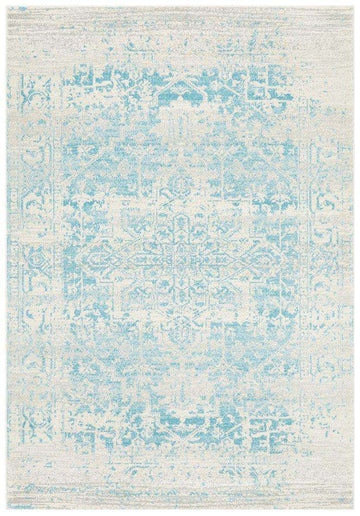 Valiente Blue Transitional Rug - Simple Style Co