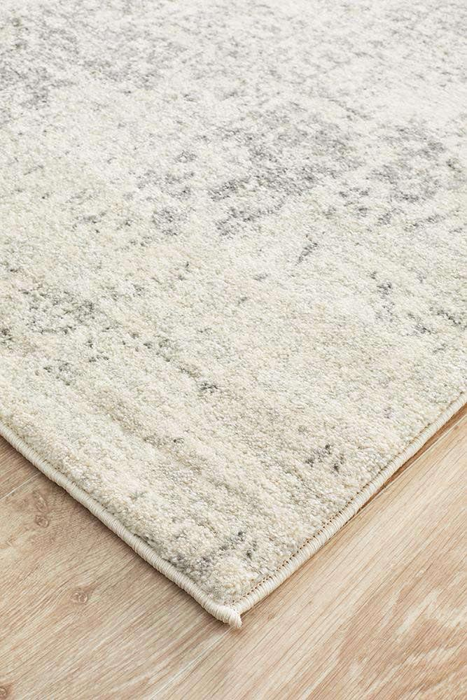 Bafra Distressed Grey & Ivory Transitional Runner Rug - Simple Style Co
