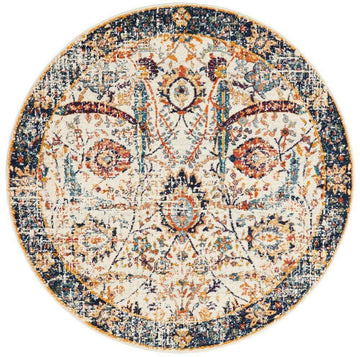 Valentina Transitional Round Rug - Simple Style Co