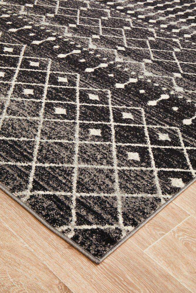 Gediz Transitional Rug - Black