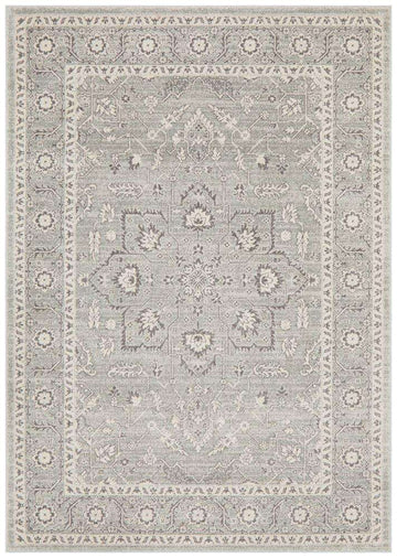 Simple Style Co: Verda Transitional Rug Silver | Buy Rugs Online