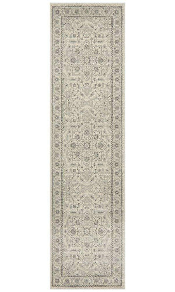 Verda White Transitional Hallway Runner - Simple Style Co