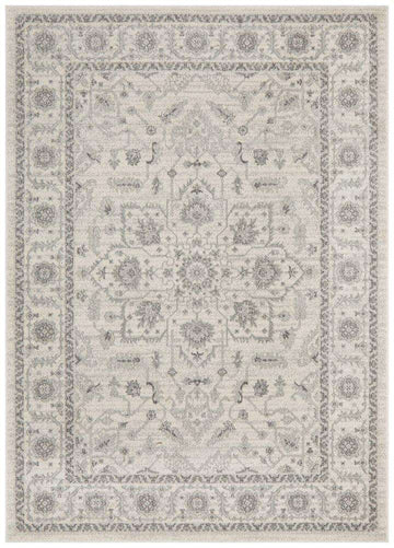 Verda Transitional Rug - White - Simple Style Co