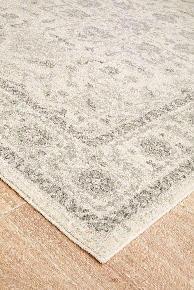 Verda Transitional Rug - White