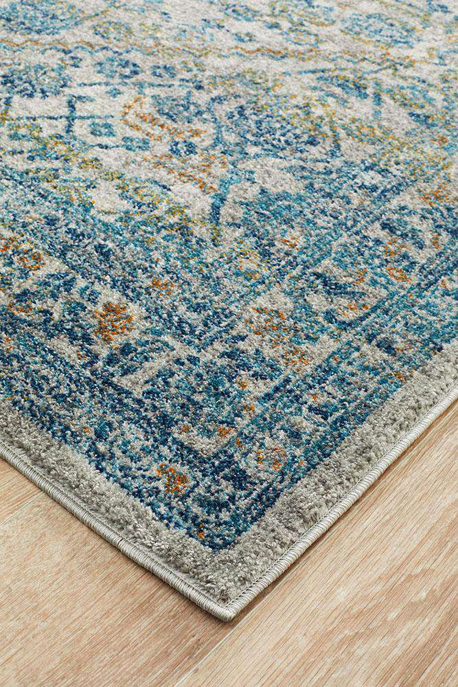 Rimini Transitional Rug Silver | Free Delivery Australia Wide