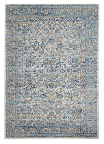 Rimini Transitional Rug - Silver - Simple Style Co