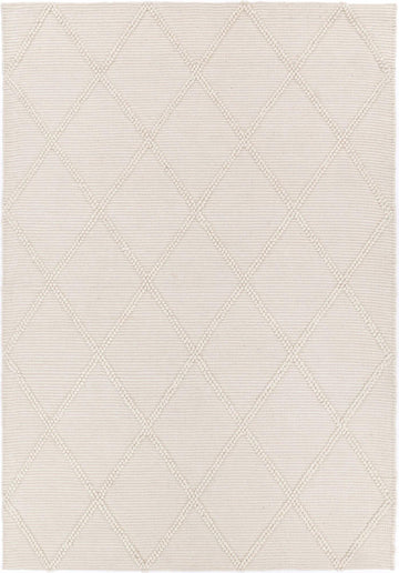 Leilani Diamond Braided Cream Rug - Simple Style Co